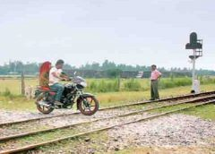 railway crossing accident