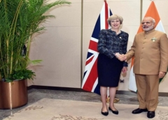 Britain and India condemn terror